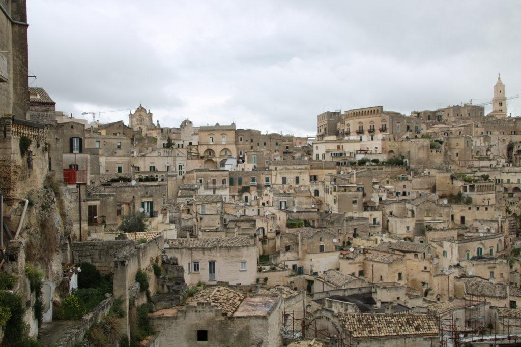 Matera : sassi, une ville dans la montagne
