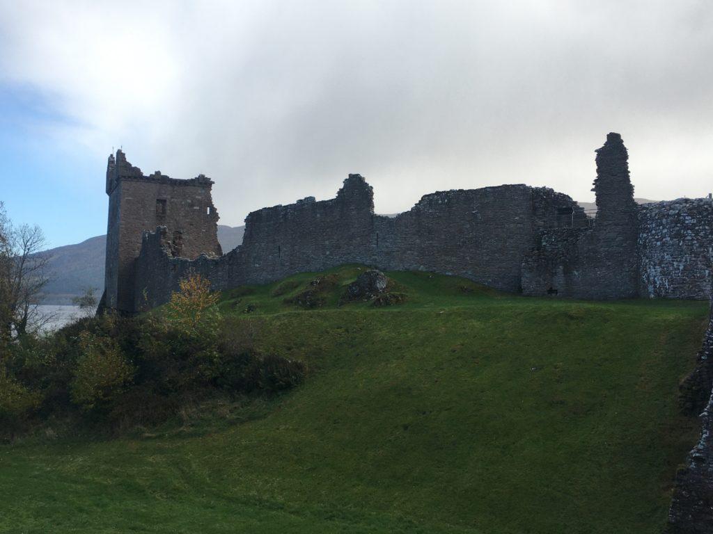 chateau fort en ruine