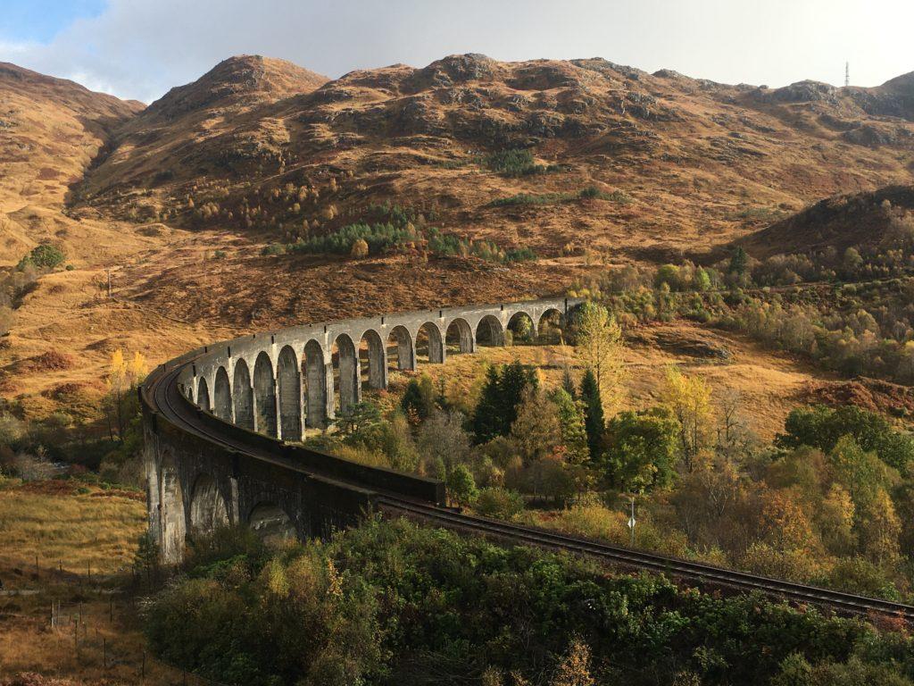viaduc de glenfinnan sur un pont à arches