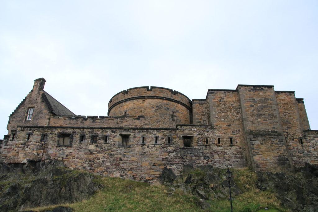 chateau d'edimbourg en ecosse, rétrospective