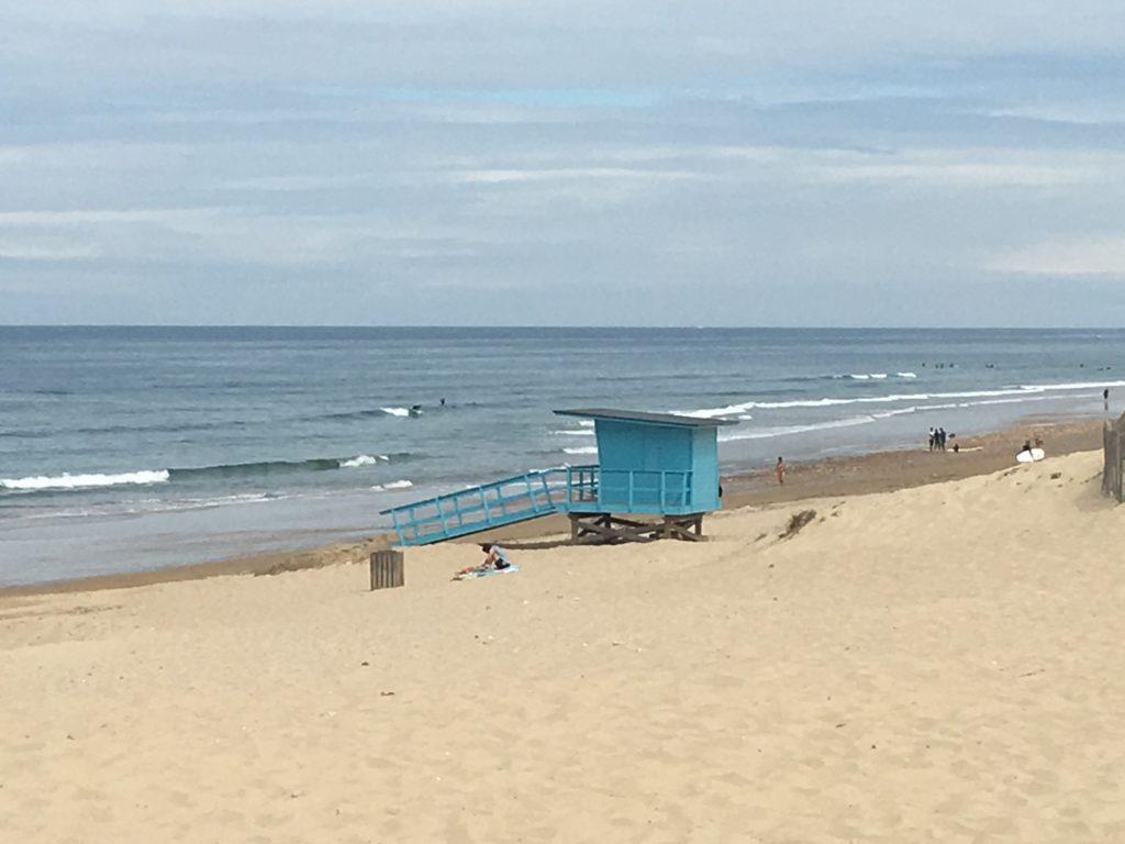 plage, cabine de sauveteur