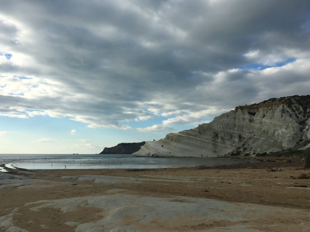 falaises blanches, plages